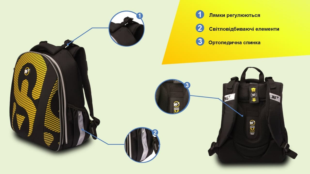 Від правильного вибору рюкзака залежить комфорт та здоров'я вашої дитини!