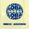 Блок для заміток з липким шаром 75х75мм 100 аркушів rainbow GN Global Notes (12) 3654-98-pk1-b