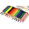 Олівці кольорові 12 кольорів Marco (12) (120) 3100-12CB
