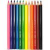 Олівці кольорові Marco 12 кольорів Jumbo (12) (72) 4400-12CB