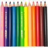 Олівці кольорові 12 кольорів Marco короткі (12) (240) 4100H-12CB