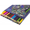 Олівці кольорові 18 кольорів 1 Вересня Steel Force (8) 290546