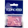 Блок для заміток з липким шаром 38х50 мм 100 аркушів рожевий Economix (12) E20930-09