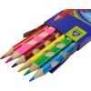Олівці кольорові 6 кольорів Yes Ergonomic (12) 290507