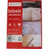 Етикетки самоклейні Optima 14 шт 105х42,4мм (100) O25109