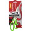 Ножиці офісні Axent 18 см Shell біло-салатові (10) (200) №6304-09