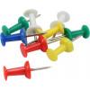Кнопки-гвоздик Axent кольорові 30 шт (20) (240) 4203