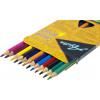 Олівці кольорові 12 кольорів Animal world пластикові E11515
