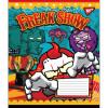 Тетрадь 12 листов линия YES Horror Circus (25) (500) №764498