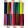 Олівці кольорові 36 кольорів/18 шт Yes Smiley World дівчинка (8) 290610