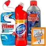 Моющие средства для ванной и туалета