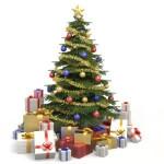 Новогодние елки и венки