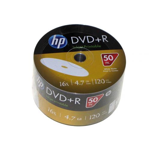 DVD+R 16х4.7Gb/120min HP bulk (50)