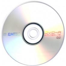 DVD-R 16х4.7Gb/120min Emtec bulk (50)