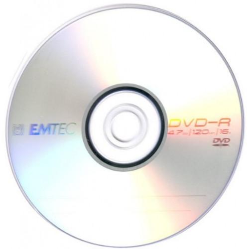 DVD-R 16х 4. 7Gb/120min Emtec bulk (50)