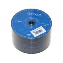 DVD-R 16х4.7Gb/120min Artex bulk (50)