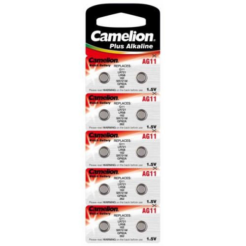 Батарейка Camelion Алкалайн AG11/10bl (10) (100)