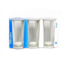 Набор стаканов стеклянных Gallery Ода 05с1256/0193 6 шт. 200мл (Галерея)