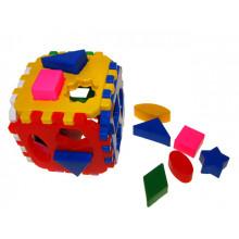 """Куб """"Розумний малюк"""" Логіка Комбі Технокомп 2476 46 елементів"""