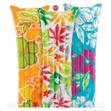 Надувной матрас 3 цвета 183х69см в пакете (24) КИ №59720