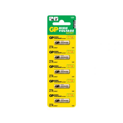 Батарейка GP A27/5bl для автосигнализации (5) (100)