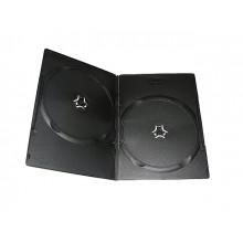 Футляр Box DVD 2шт 7мм slim (100)