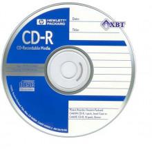 "CD-R ""Hewlett-Pack"" 52x 700mb bulk (50) printable (600)"