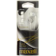 Наушники вакуумные Maxell drumsoundz white 303433