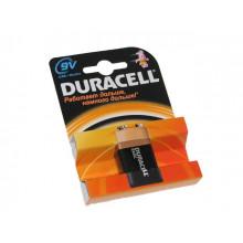 Батарейка Duracell Алкалайн 6F22/1bl крона 9V (1) (10)