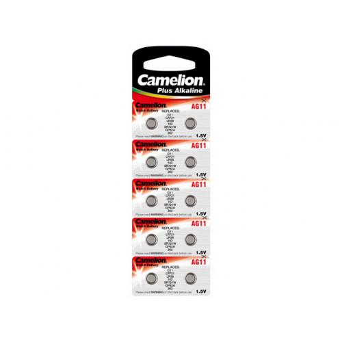 Батарейка Camelion Алкалайн AG1/10bl (10) (100)