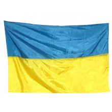 Флаг Украины 133х94см нейлон (1) (10) (20)