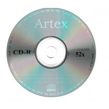 "CD-R ""Artex"" 52x 700mb bulk (50)"