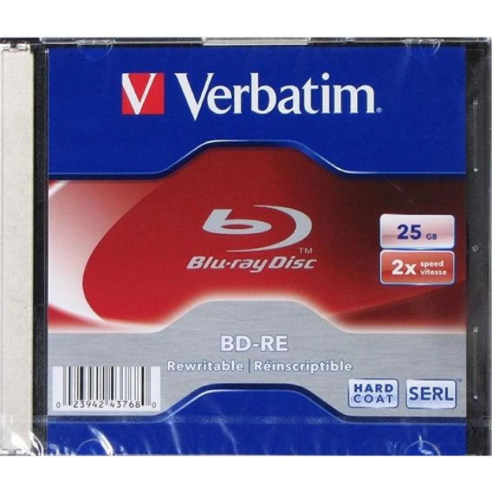BD-RE 2х 25Gb SL Verbatim slim (20)