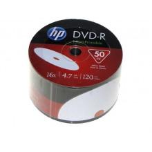 DVD+R 16х4.7Gb/120min HP bulk printable (50) (600)