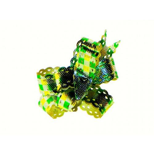 Бантик-фольга 12х250мм (10)