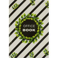 Книга-канцелярська А4 200 аркушів клітинка Фолдер офсет тверда обкладинка (10)