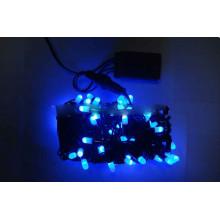 Гірлянда електрична вулична 100 LED синя, чорний провід L-10 м d-2,2 мм (30) №K-62/1420-02