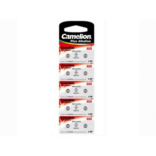 Батарейка Camelion Алкалайн AG0/10bl