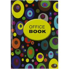 Книга-канцелярская А4 96 листов клетка Фолдер офсет твердая обложка (10)