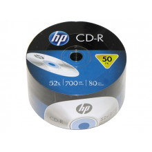 "CD-R ""Hewlett-Pack"" 52x 700mb bulk (50)"