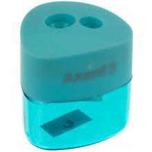 Точилка Axent soft Pastel ассорти (12) №1157-A