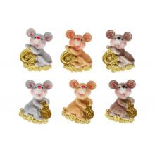 """Магнит """"Мышки"""" 5.5 см,6 видов (48) (576) №SG10-120 /Bonadi/"""