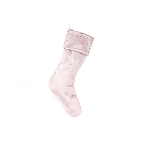 Чобіток для подарунків 45 см,блідо-рожевий (1) /Bonadi/ №592-127