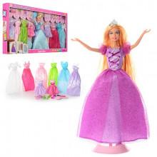 Кукла Defa 29см, одежда, обувь, аксессуары, в коробке 66,5х35х6см, 2 вида 8266