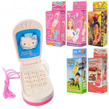 Мобильный телефон M0265 IU/R-1 6 видов, в коробке 4,5х9см