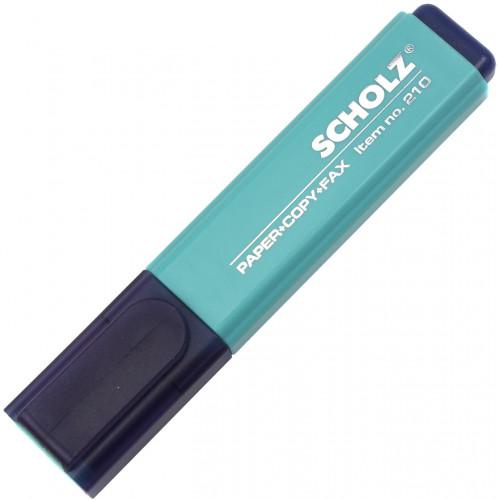 Текстмаркер Sсholz 1-5мм бірюзовий (10) №210