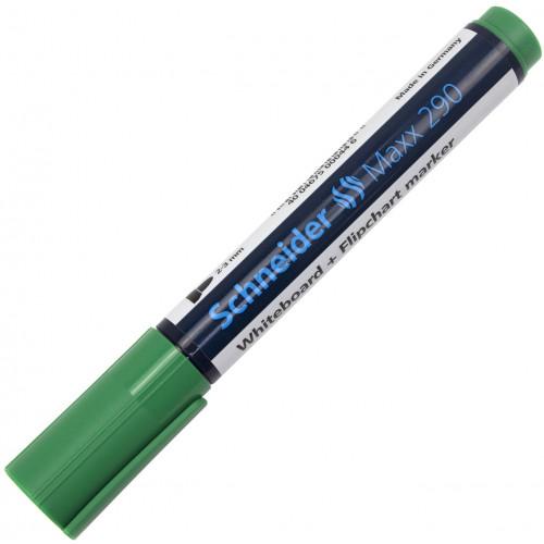 Маркер для дошки Schneider Maxx 290 зелений №129004
