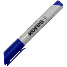 Маркер Kores 1-3 мм для флипчартов синий (12) №XF1/K21303