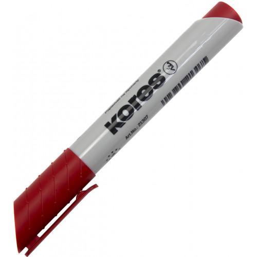 Маркер Kores 1-3 мм для фліпчартів червоний (12) XF1/K21307