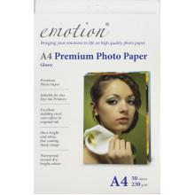 Фотопапір Emotion Premium А4 230г/м2 глянцевий BOX (50)
